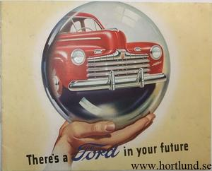 1946 Ford Broschyr There's a Ford...