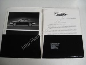 1987 Cadillac  Press kit