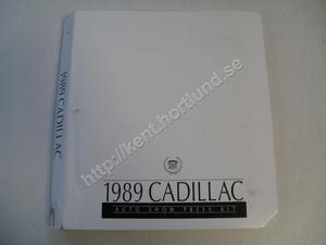 1989 Cadillac  auto show press kit
