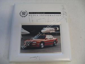 1991 Cadillac Media information