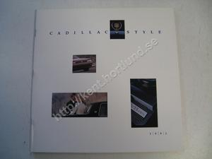 1991 Cadillac Lyxbroschyr