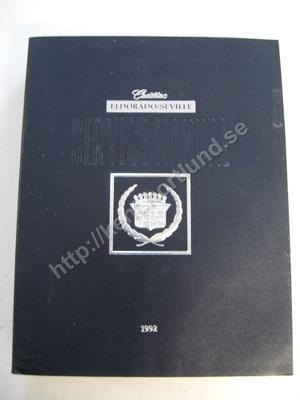 1992 Cadillac Eldorado Seville Service manual