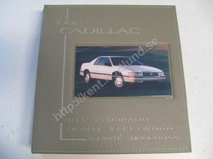 1992 Cadillac Seville, eldorado, deville, fleetwoos, allante, brougham media information