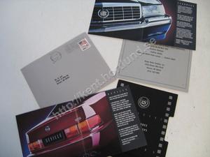 1992 Cadillac Seville, Eldorado presentation