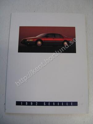 1992 Cadillac Seville  salesfolder