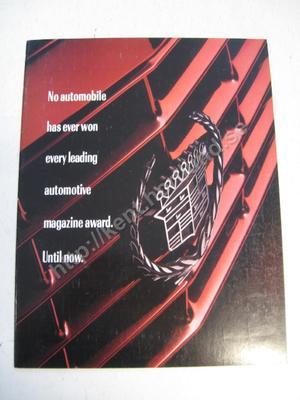 1992 Cadillac Seville STS broschyr