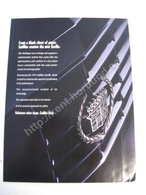 1992 Cadillac Seville  STS Försäljningsbroschyr