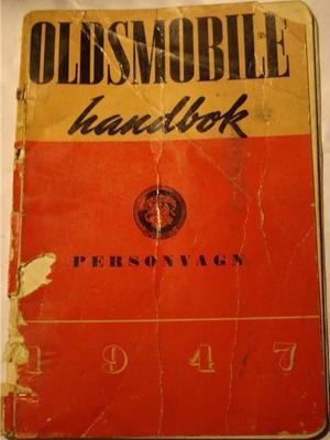 1947 Oldsmobile Instruktionsbok svensk