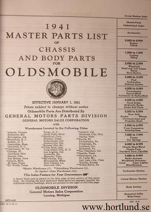 1941 Oldsmobile Shop Manual