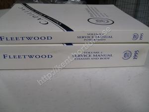 1995 Cadillac Fleetwood Service manual 2 book set