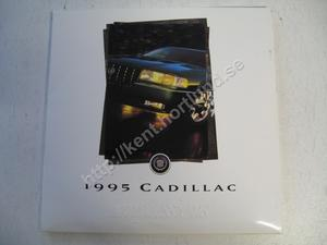 1995 Cadillac Försäljningsbroschyr på CD
