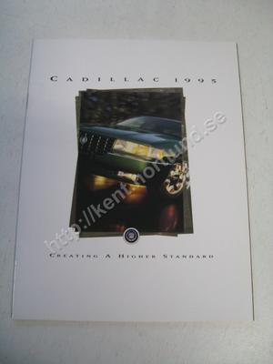 1995 Cadillac Försäljningsbroschyr