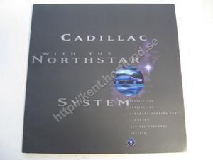 1996 Cadillac Försäljningsbroschyr