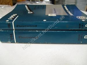 1996 Cadillac Fleetwood Service manual 2 book set