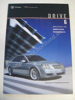 2006 Cadillac Försäljningsbroschyr