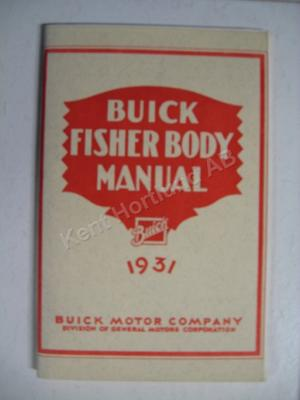1931 Fisher Body Manual