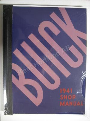 1941 Buick Shop Manual