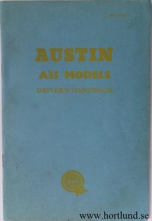 1956 1961 Austin A35 Instruktionsbok