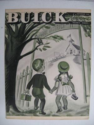 1946 Buick Magazine  Volume 8 number 3