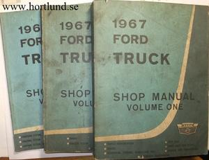 1967 Ford Truck Shop Manual