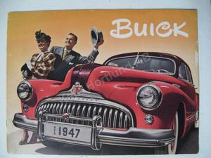 1947 Buick  Lyxbroschyr