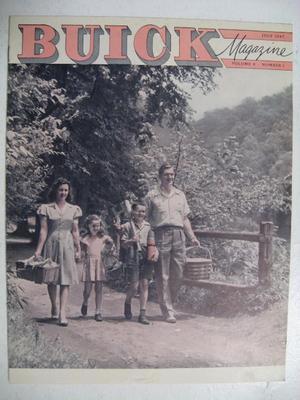1947 Buick Magasine  Volume 9 number 1