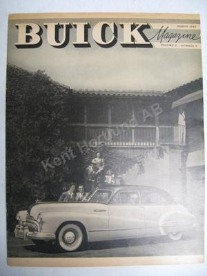 1947 Buick Magasine  Volume 9 number 9