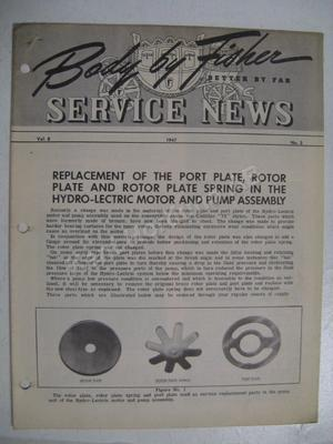 1947 Fisher Service news Vol.8 No.3