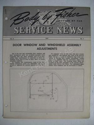 1947 Fisher Service news Vol.8 No.5