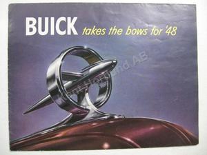 1948 Buick Försäljningsbroschyr