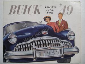 1949 Buick Försäljningsbroschyr