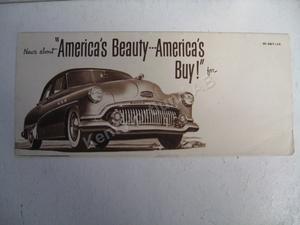 1951 Buick Sales Folder