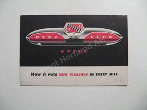 1952 Buick broschyr, Dyna Flow Drive