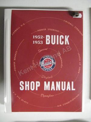 1952 - 1953 Buick Shop Manual