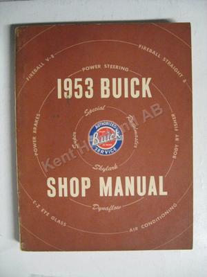 1953 Buick Shop Manual