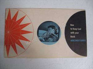 1953 Buick Airconditioner broschyr