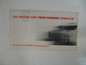 1953 Buick Twin-Turbine Dynaflow broschyr