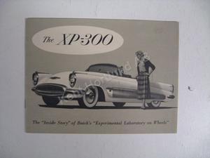 1953 Buick XP-300 broschyr