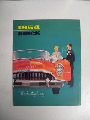 1954 Buick  the beautiful buy broschyr