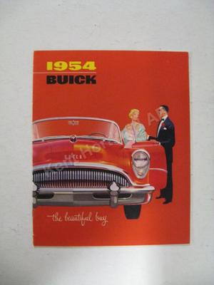 1954 Buick  the beautiful buy broschyr