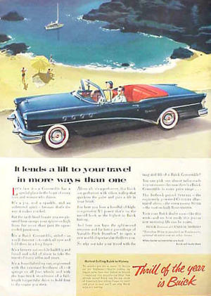1955 Buick Century Convertible annons