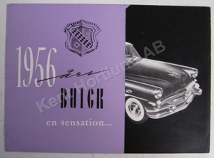 1956 Buick broschyr svensk