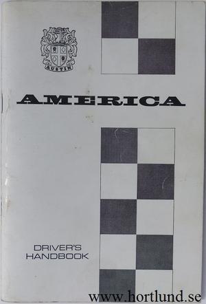 1968 Austin America Instruktionsbok