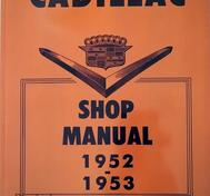 1952-1953 Cadillac Shop Manual