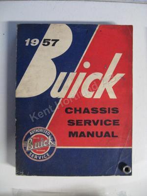1957 Buick Chassis Service Manual original