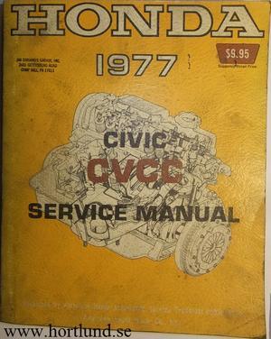 1977 Honda Civic CVCC Service Manual