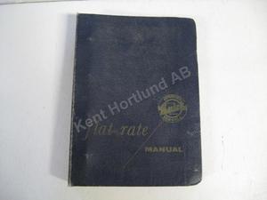 1957 Buick Flat Rate Manual