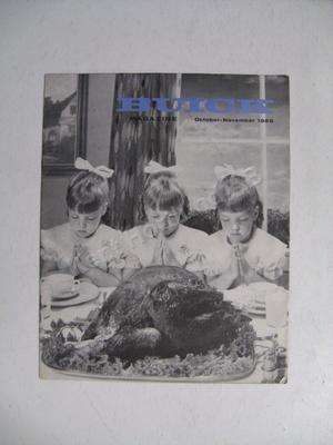 1959 Buick 1958 Bucik magazine october- november 1958