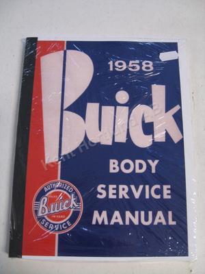 1958 Buick Body Service Manual