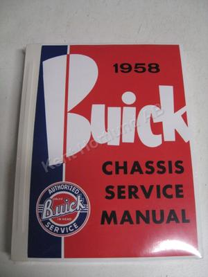 1958 Buick Chassis Service Manual